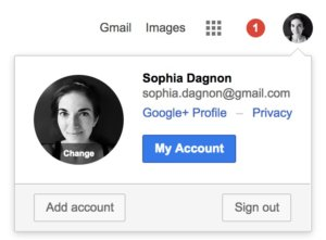 Setting up Google 2 step verification
