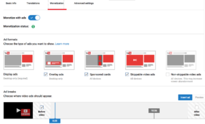 video tutorials for YouTube: monetizing your video tutorial