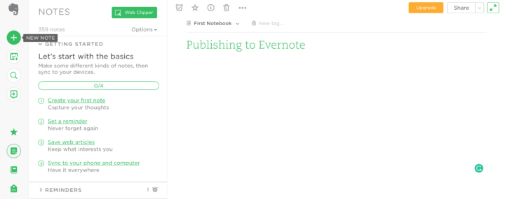 How to Use Evernote as a Publishing Tool • Dotto Tech