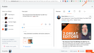 useful browser extensions-- Agorapulse