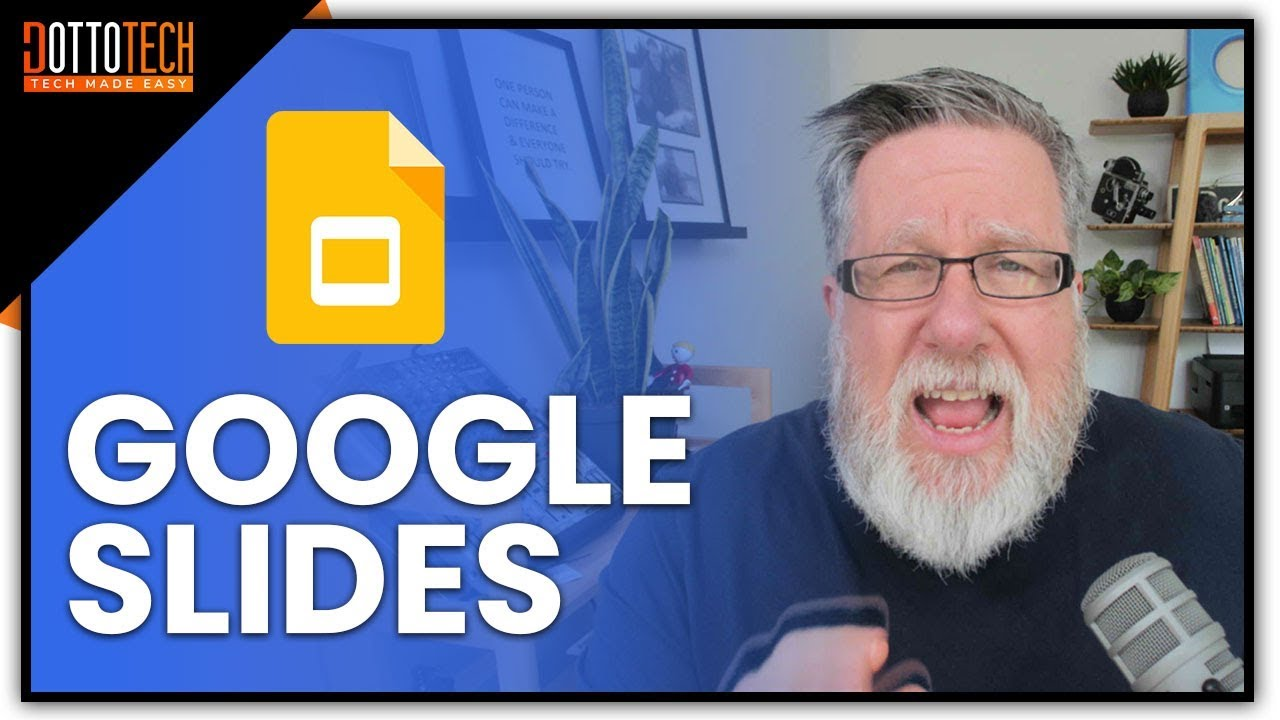 make stunning presentations with google slides quick tutorial 2018