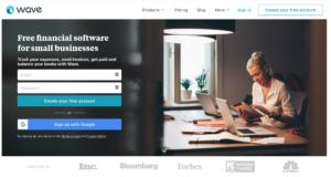 Wave homepage
