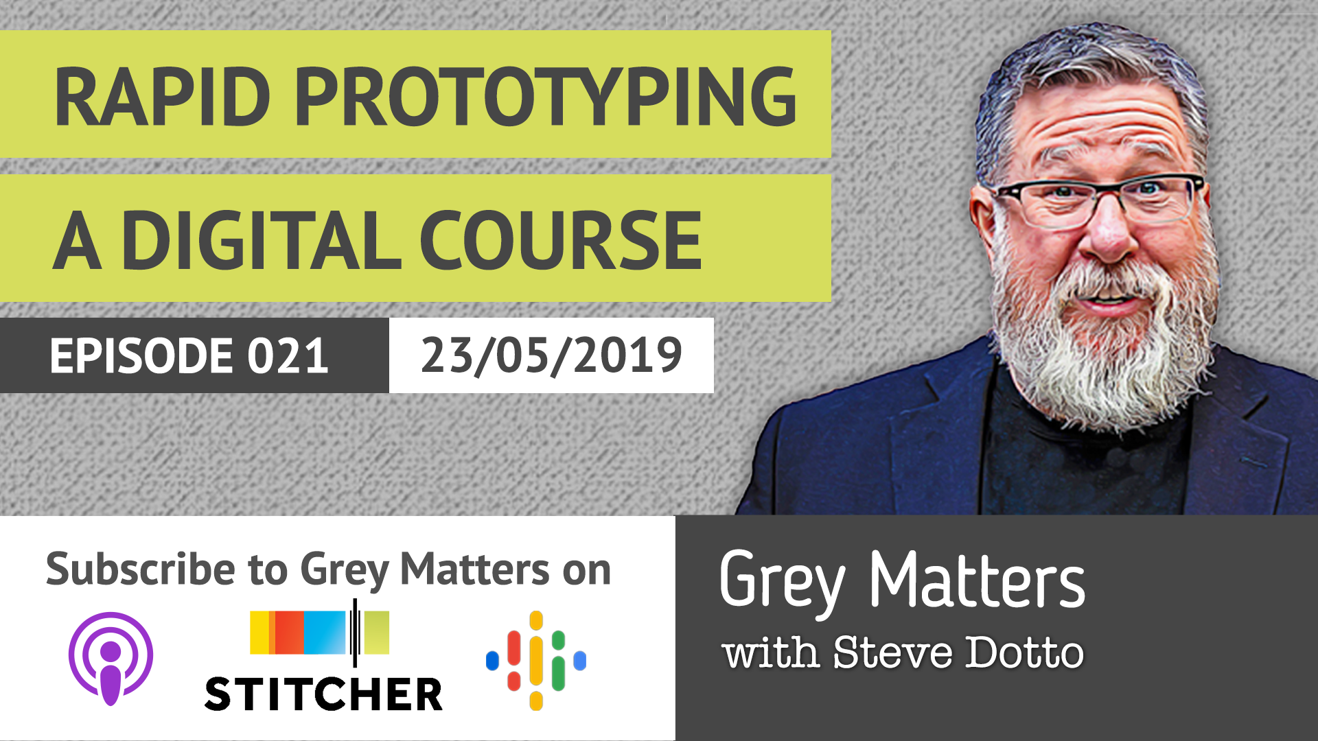 GM 21- Rapid Prototyping a Digital Course