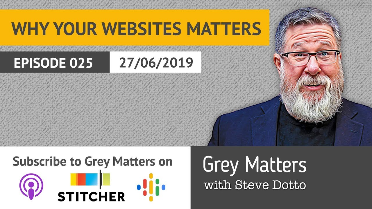Why Your Website is so Darn Important! - GM25