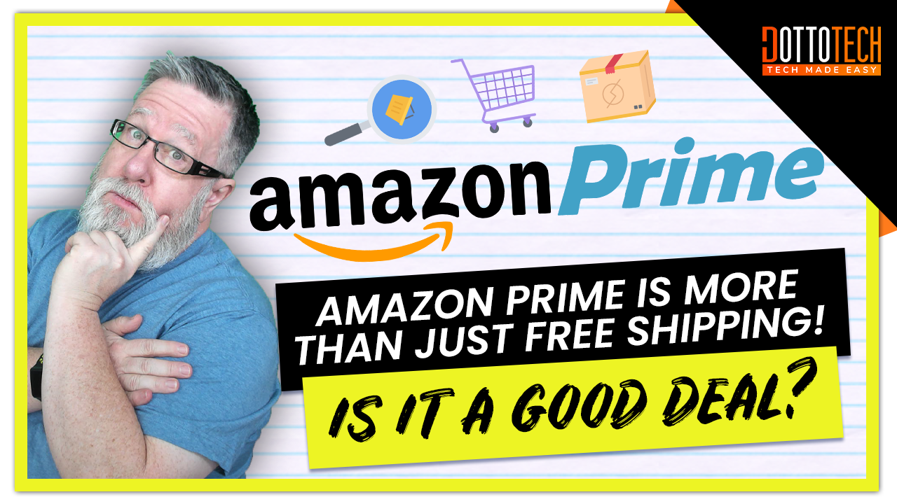 Amazon Prime is More Than Just Free Shipping!