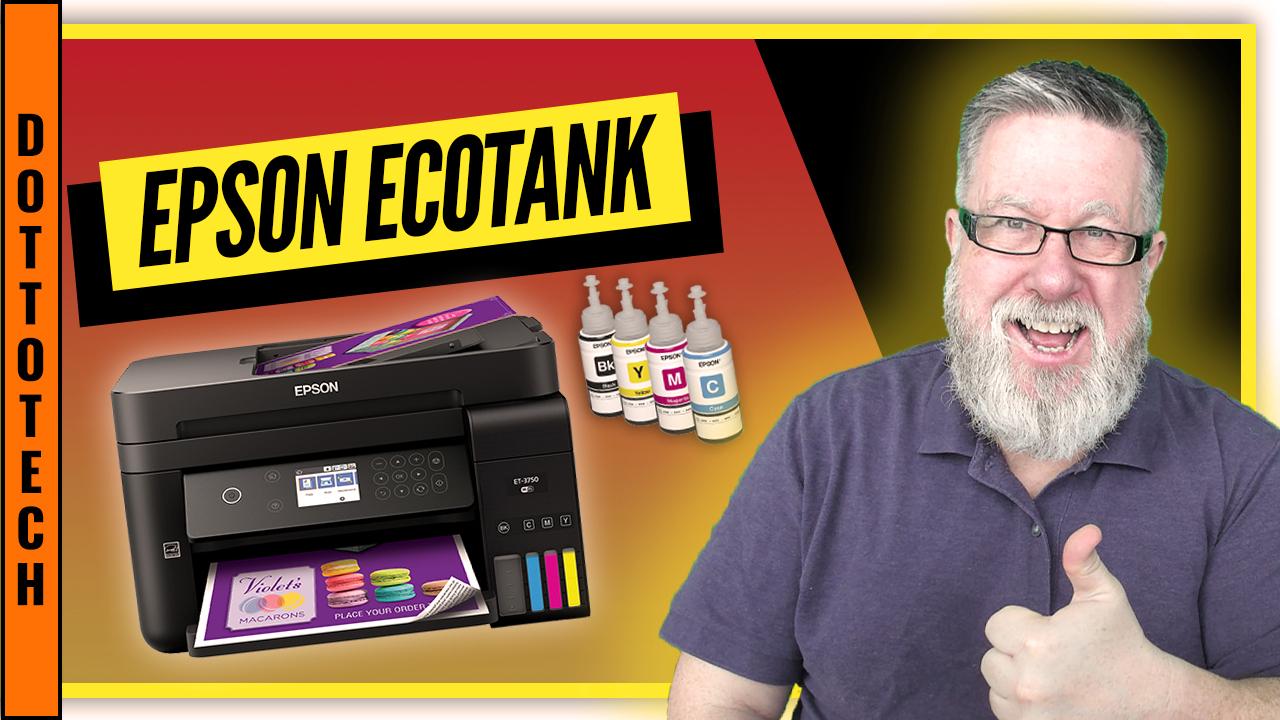 Epson Ecotank, Perfect for Back to School