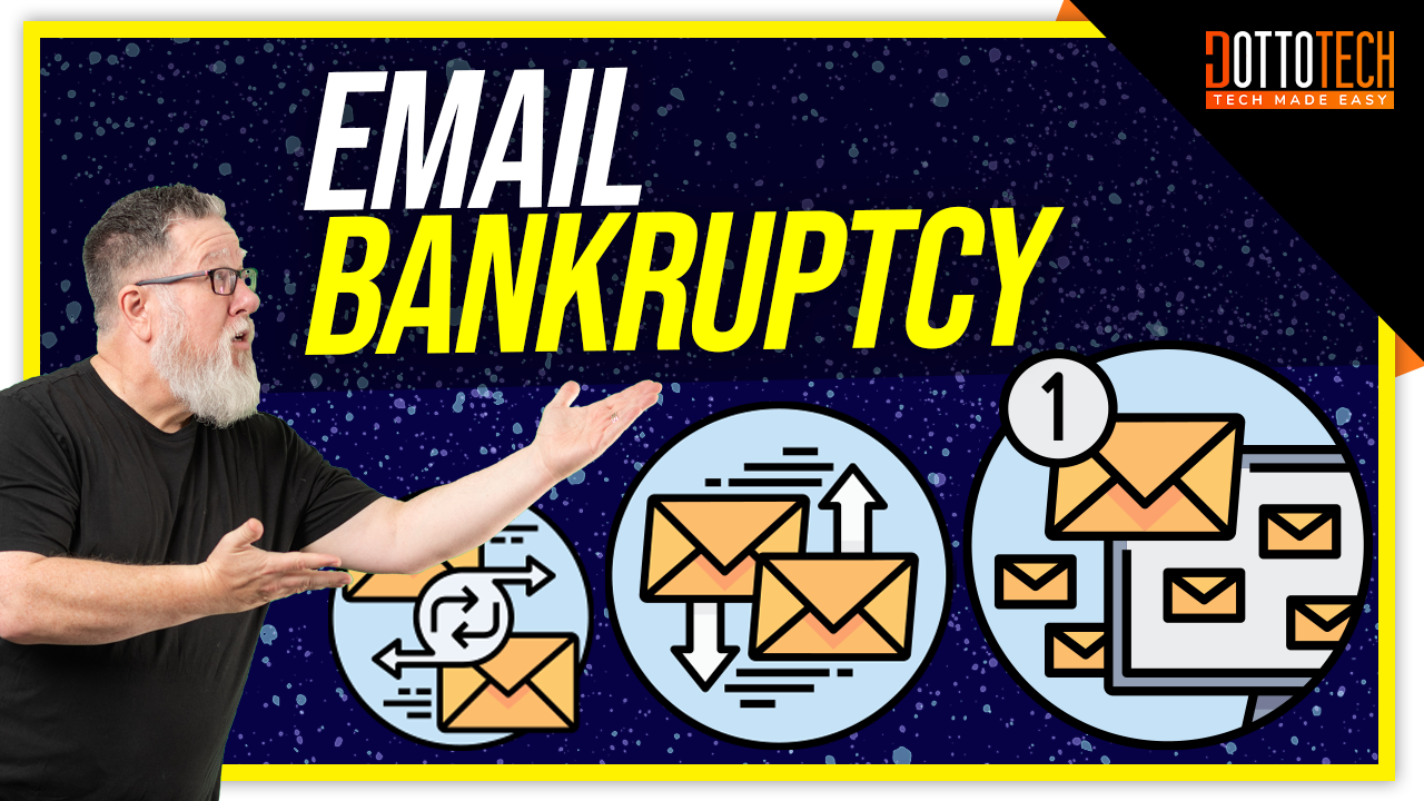 How to Declare Email Bankruptcy Day and Achieve Inbox Zero