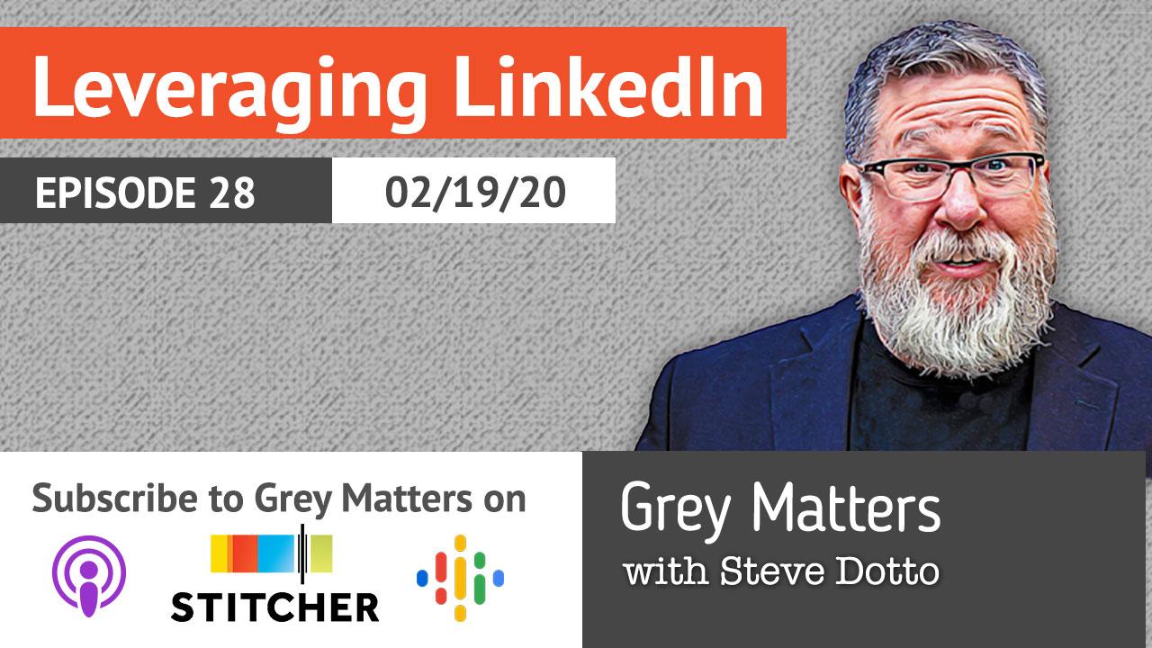 Leveraging LinkedIn - GM28
