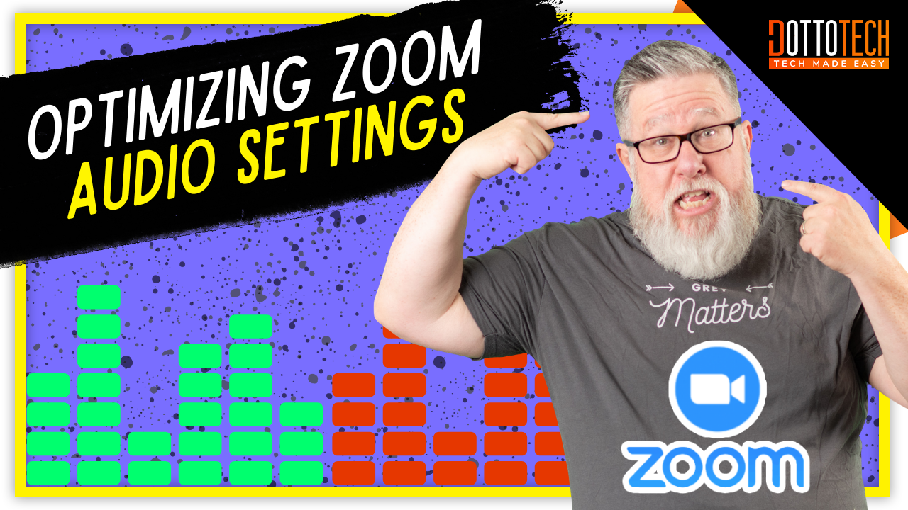 Zoom Audio Tips - For Music Teachers and Fitness Instructors