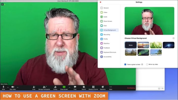Virtual Background Zoom Help Center