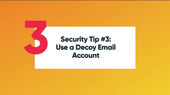 Email Address Security Tips