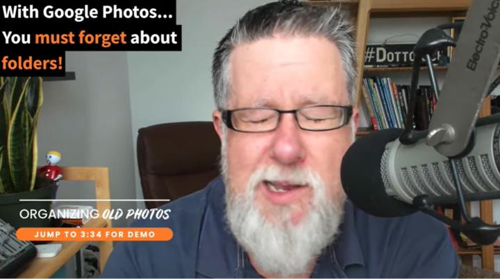 google photos no folder