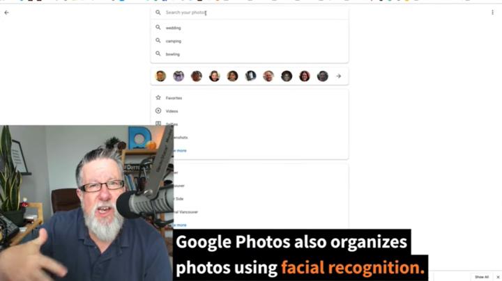 google photos facial recognition