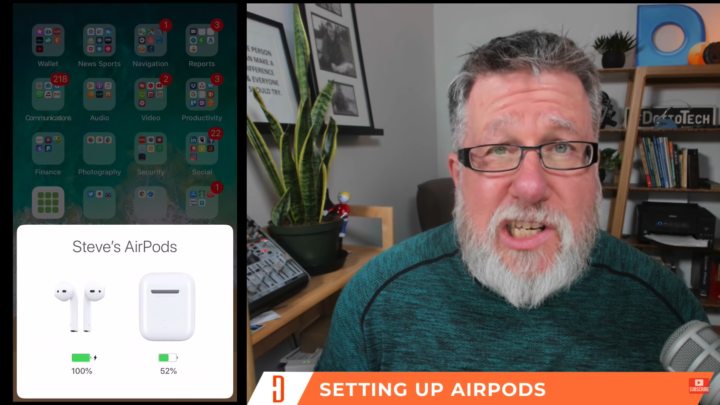 Setting up your Airpods