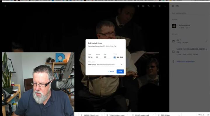 editing metadata in google photos