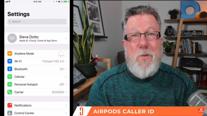 Airpods Caller ID