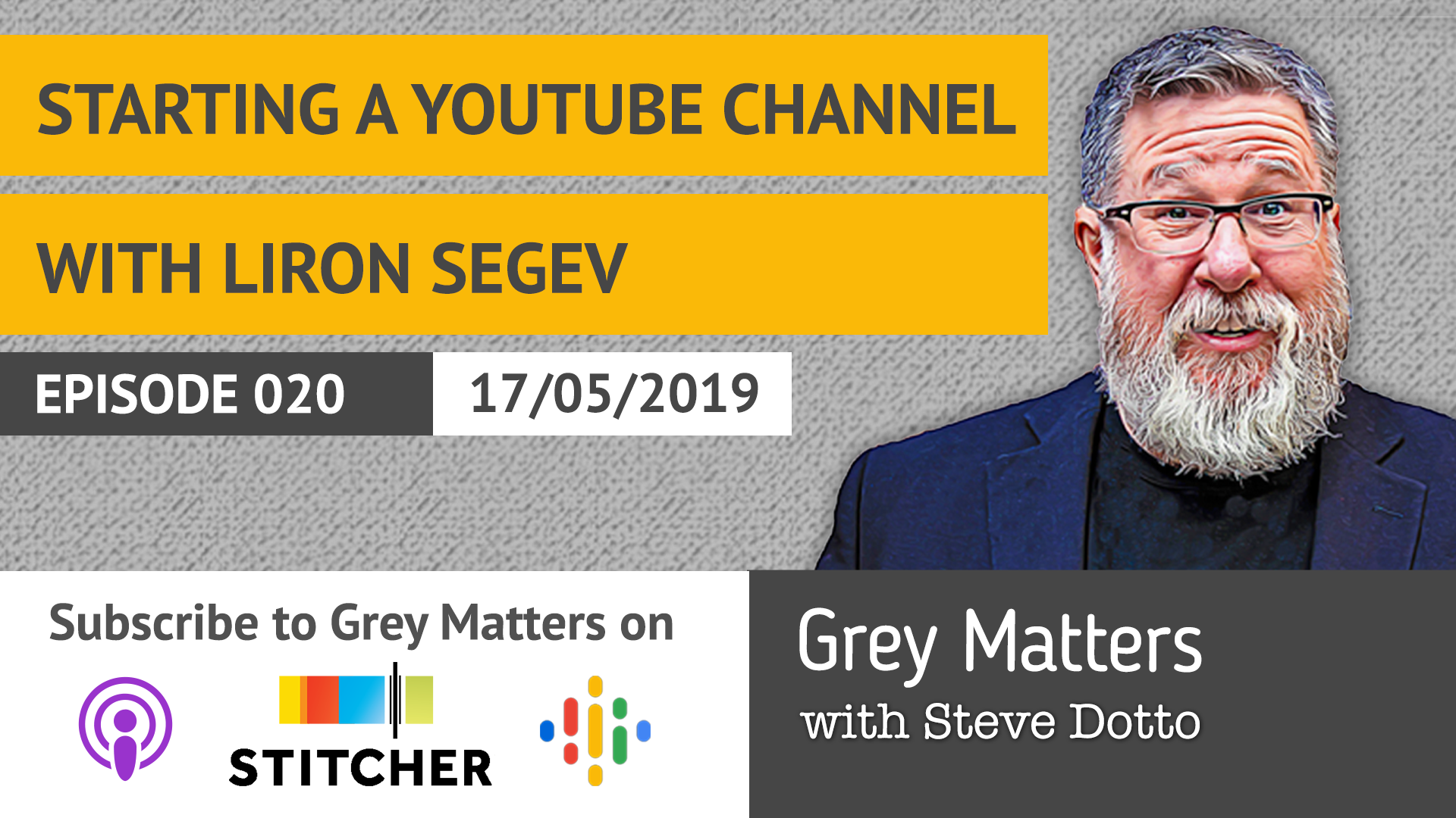 How to Start a YouTube Channel (featuring Liron Segev) Title (SEO Title): How to Start a YouTube Channel (featuring Liron Segev)