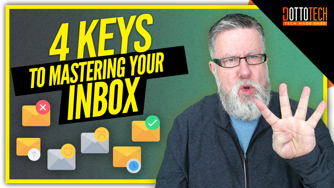 Email Inbox Overload: Learn to Master Your Inbox