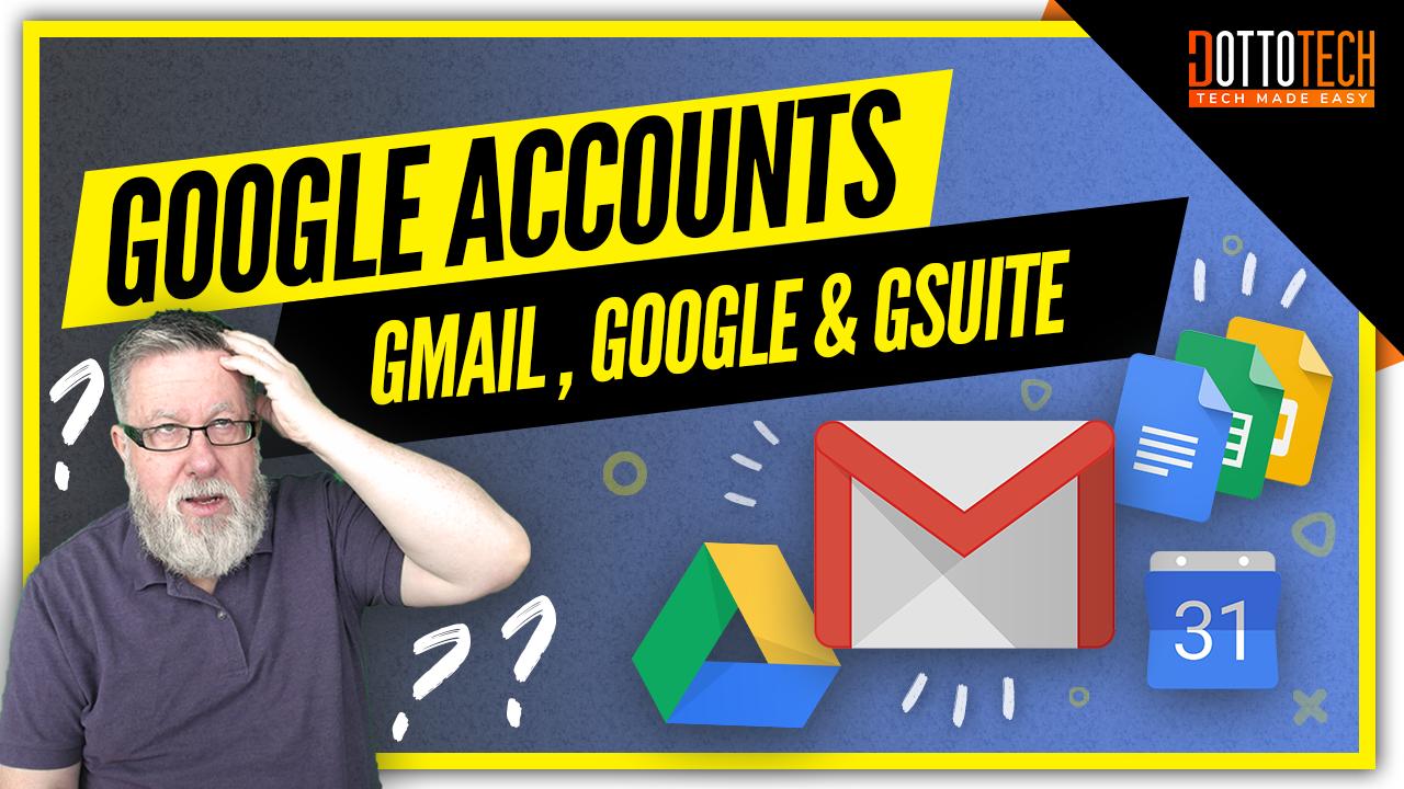 Google accounts