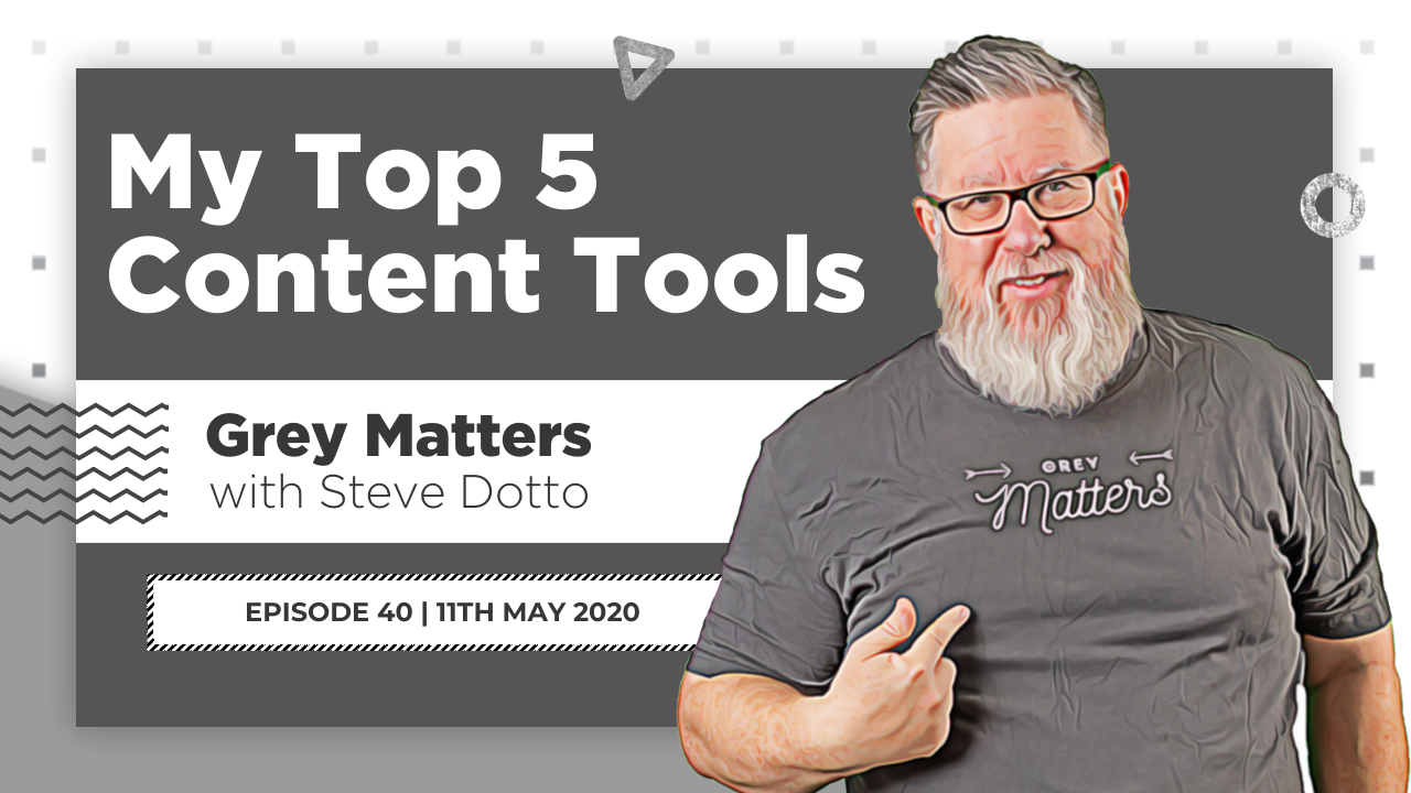 Content Creation: My Top 5 Tools