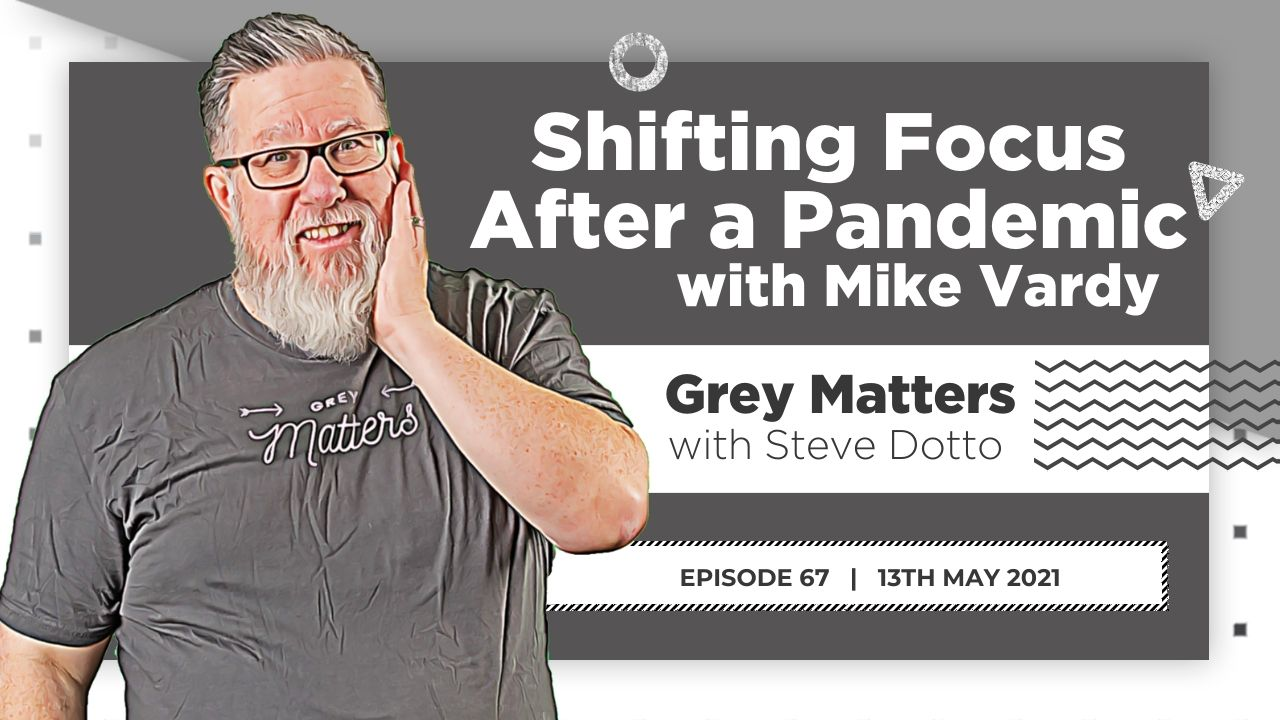Shifting Focus After a Pandemic with Mike Vardy - GM67